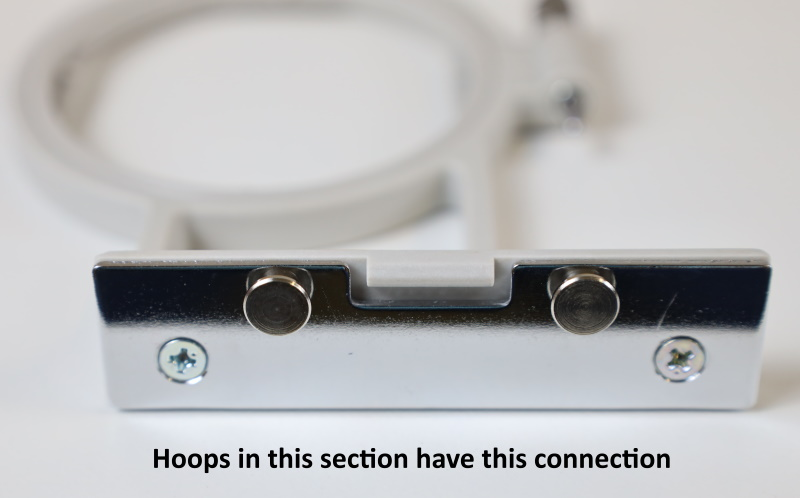 Embroidery Hoops for Brother PE LB NV SE and SB Models