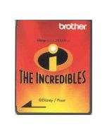Brother SA320D Disney Incredibles Embroidery Design Card