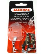 Janome Free Motion Convertible Foot - 3 Piece Set