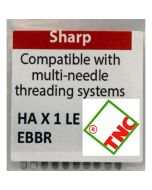 Triumph Commercial Embroidery Machine Needles EBBR Sharp for Brother PR