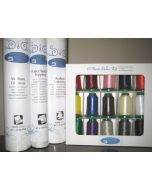 Ken's Sewing Center Combination Stabilizer Embroidery Thread Set