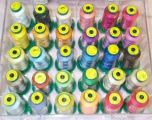 Exquisite Disney Top 30 Colors Embroidery Thread Set