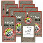 Organ Sewing Machine Needles 100 Count