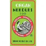 Organ Needles for Janome MB4 Embroidery Machine 100 Pack