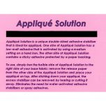 Ken's Sewing Center Applique Solution Embroidery Stabilizer