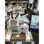 Brother PR-670 Commercial 6 Needle Embroidery Machine Seminar Model