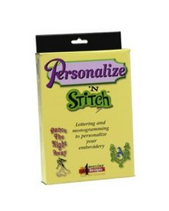 Amazing Designs Personalize N Stitch V2 Embroidery Software