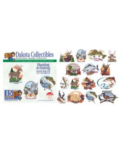 Dakota Collectibles Hunting & Fishing Embroidery Designs