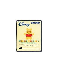 Brother SA313D Disney Pooh Honey Toys Embroidery Design Card