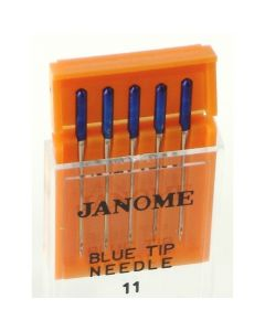Janome Size 11 Blue Tip Sewing Machine Needles