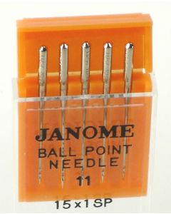 Janome Ball Point Size 11 Needle Pack