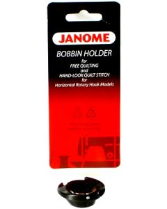 Janome Low Tension Bobbin Holder for Free Motion Quilting