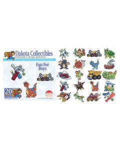 Dakota Collectibles Fun for Boys Embroidery Designs