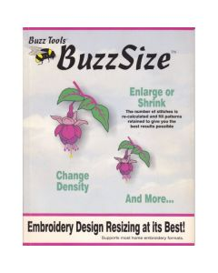Buzz Size Embroidery Software