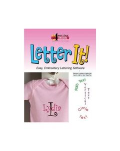 Amazing Designs Letter It Embroidery Software