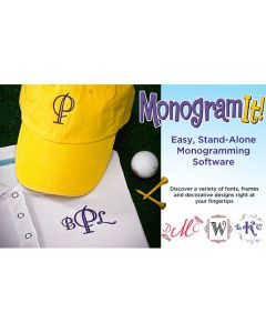 Amazing Designs Monogram It Embroidery Software