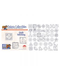 Dakota Collectibles Quilt Stitching Embroidery Designs