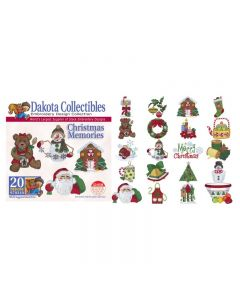 Dakota Collectibles Christmas Memories Embroidery Designs