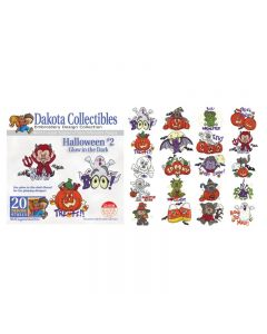 Dakota Collectibles Halloween #2 Embroidery Designs
