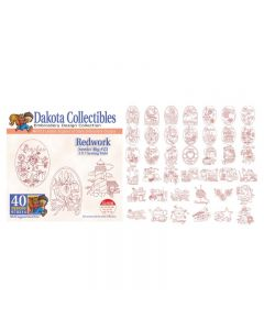 Dakota Collectibles Redwork Embroidery Designs