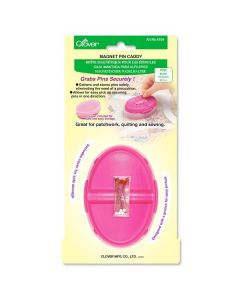 Clover Pink Magnetic Pin Caddy
