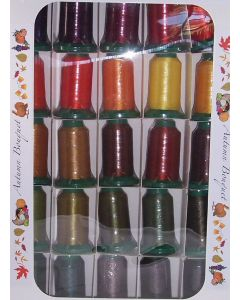 Exquisite Autumn Embroidery Thread Set