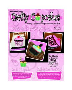 Dakota Collectibles Crafty Cupcakes Embroidery Card