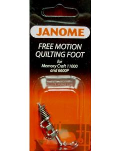 Janome Free Motion Quilting Foot with Small Stippling Head