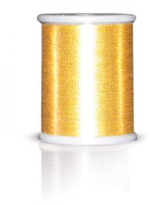 Brother MT999 Metallic Embroidery Thread Light Gold