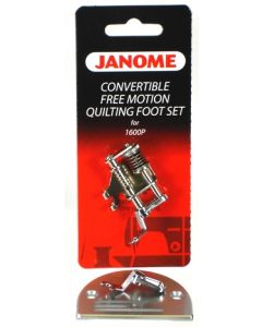 Janome Convertible Freemotion Quilting Foot Set for 1600P