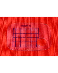 Janome Embroidery Hoop Template for Freearm C  Hoop