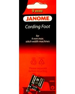 Janome 3 Way Cording Foot 9mm