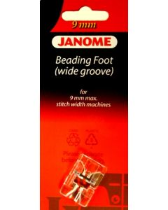 Janome Wide Beading Foot 9mm