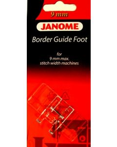 Janome Border Guide Foot 9mm