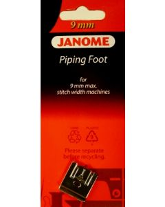 Janome Piping Foot 9mm