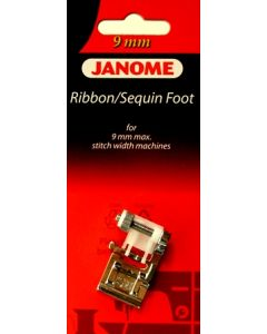 Janome Ribbon Sequin Foot 9mm
