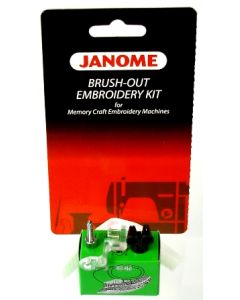 Janome Brushout Embroidery Kit