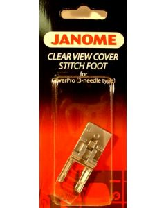 Janome Coverpro Partial Transparent Foot for 1000cpx 2000cpx