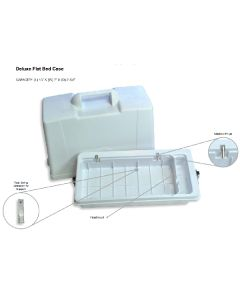 Flatbed Sewing Machine Carrying Case Fixed Divider