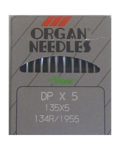 Organ DPx5 134R Needles for Juki TL-2200 QVP Quilting Machine
