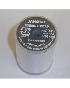 Janome 100% Polyester Embroidery Bobbin Thread 1093 yds