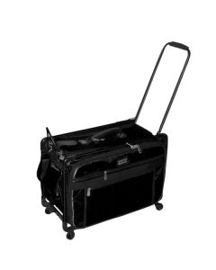 "Tutto 20"" Sewing Machine Trolley on Wheels Black"