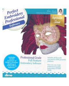 DIME Designs in Machine Embroidery #1 Professional Embroidery Software