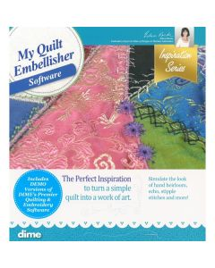 DIME Designs in Machine Embroidery #4 My Quilt Embellisher Software