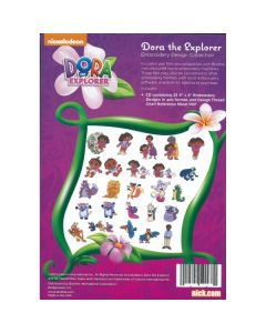 Brother Nickelodeon Dora the Explorer Embroidery Design Collection