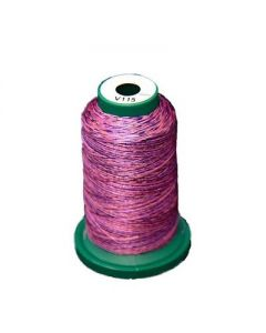 Exquisite 1000m Dark Purple Variegated Thread - V115
