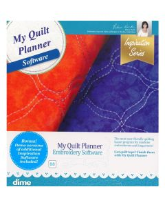 Designs in Machine Embroidery #88 My Quilt Planner