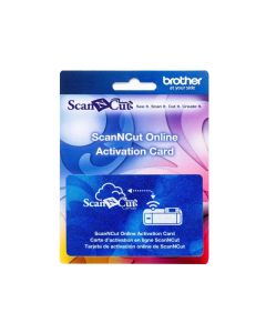 Brother ScanNCut Online Activation Card for CM350R