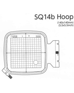 Janome Embroidery Hoop SQ14b for 400E 500E