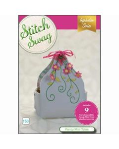 DIME Designs in Machine Embroidery #153 Fancy Mini Totes